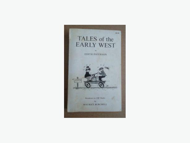 """Tales of the Early West"" by Edith Patterson"