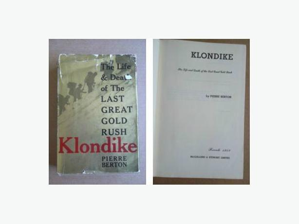 """Klondike"" by Pierre Berton (First Edition)"