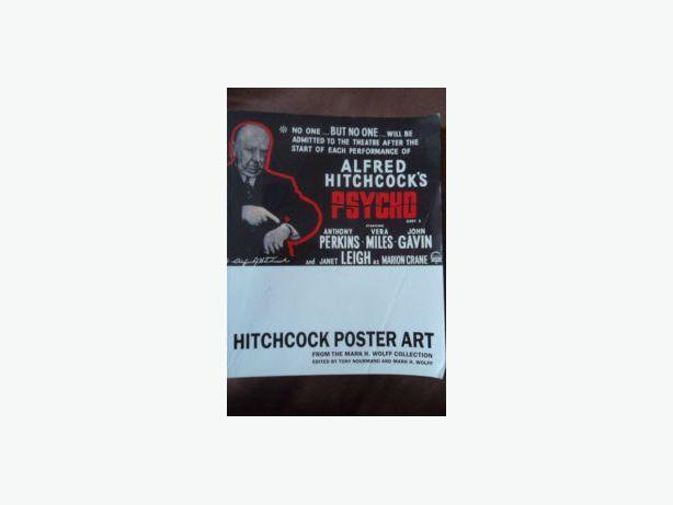 ALFRED HITCHCOCK MOVIES POSTER ART
