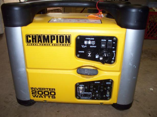 Champion 2000 Watt Inverter Generator North Nanaimo Nanaimo