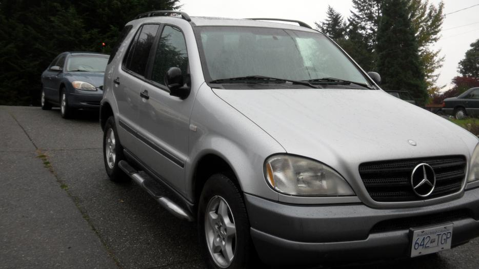 1999 mercedes benz ml320 suv sooke victoria mobile for Mercedes benz 1999 ml320