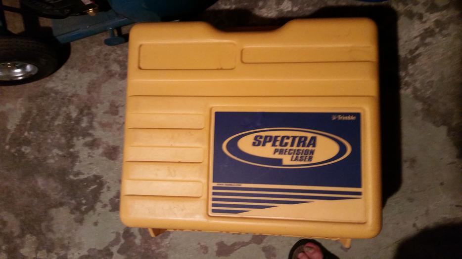 Spectra Trimble Gl720 Dual Slope Laser Level Oak Bay Victoria