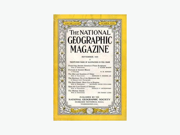 """National Geographic"" Magazines"