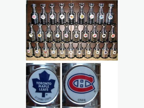 Labatt's mini-Stanley Cups