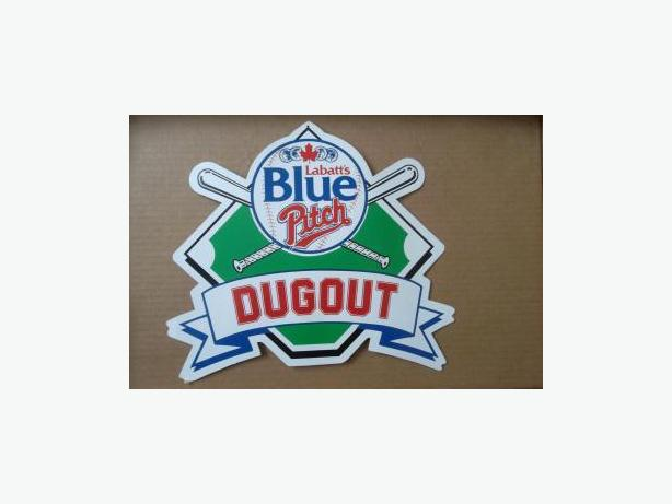 Labatt's Blue Pitch Dugout sign
