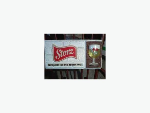 Storz Beer Sign