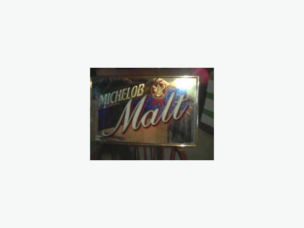 Michelob Malt Beer Mirror