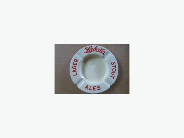 Labatt's Brewery porcelain ashtray