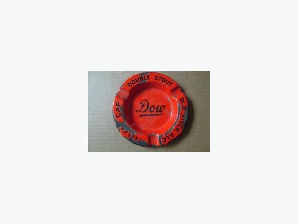 Dow Breweries porcelain ashtray