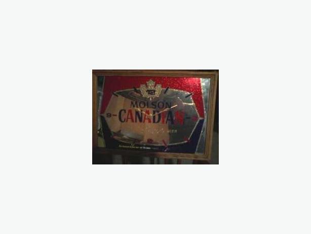 Molson Canadian Beer Clock