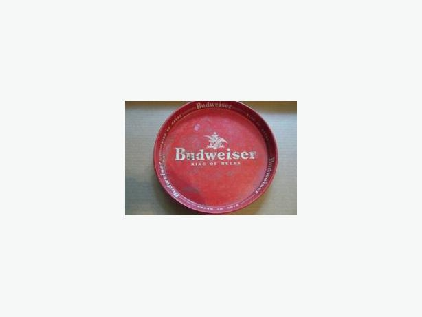 Budweiser Beer Serving Tray