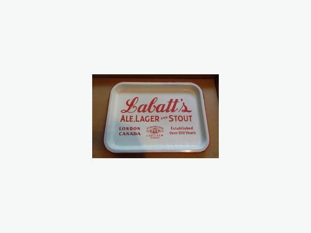 Labatt's porcelain Beer Serving Tray