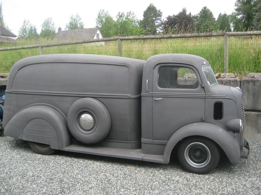 1939 Ford Coe Custom Delivery Outside Victoria Victoria