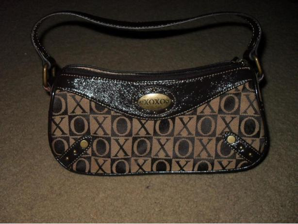 Beautiful XOXO Brown Purse