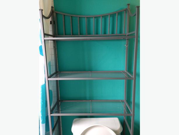 bathroom shelving unit oak bay victoria. Black Bedroom Furniture Sets. Home Design Ideas