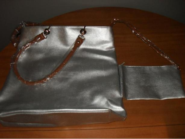Brand New - Large Gray Purse