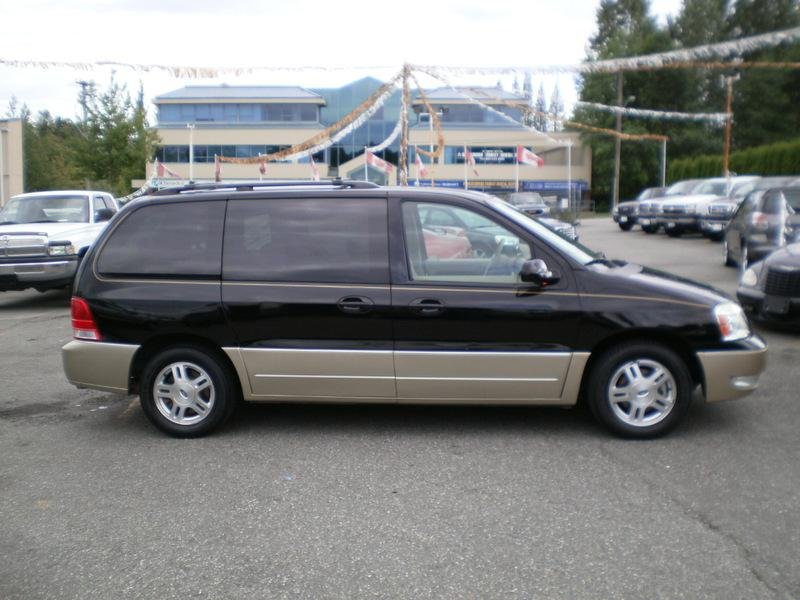 2005 Ford Freestar Sel Dvd Leather Outside Victoria Victoria