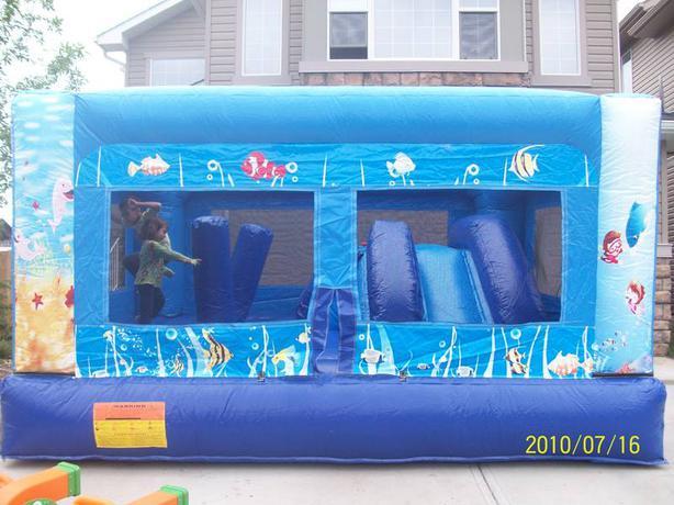 Undersea Adventure Combo Bouncy Castle Rental - Indoor Use Too!