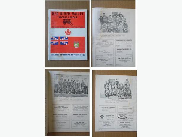 1970 Red River Valley (Winnipeg) Sports League book