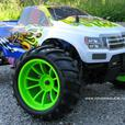NEW RC Monster Truck 1/10 Scale HSP 2.4 GHzRadio Control Nitro 4WD 2.4G