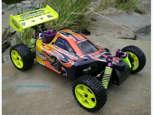 New RC Buggy / Car  Nitro Gas, 1/10 Scale 2.4G 4WD