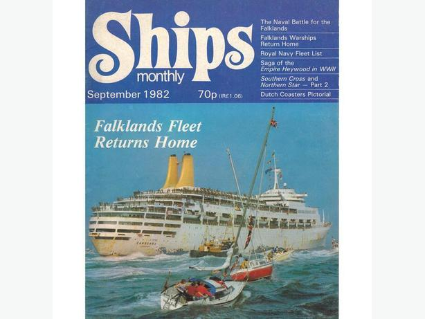 """SHIPS Monthly"" Magazine by"