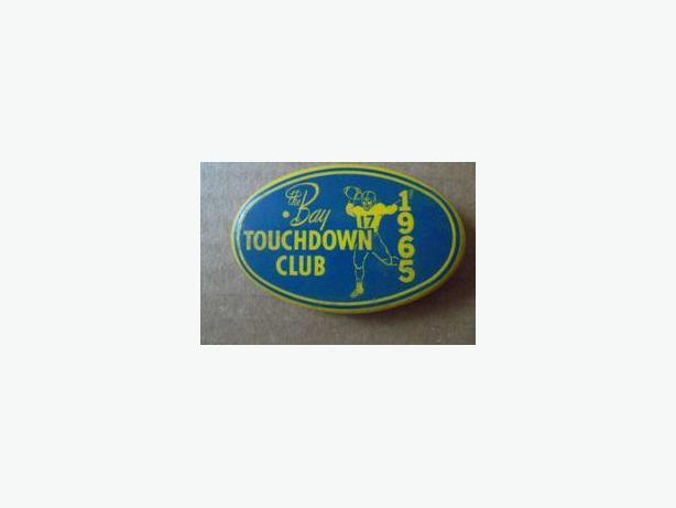 1965 Winnipeg Blue Bombers Touchdown Club Button