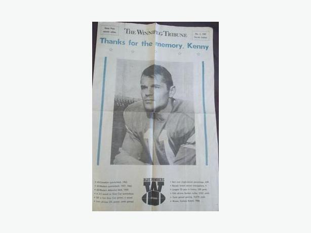 Kenny Pleon Souvenir Newspaper