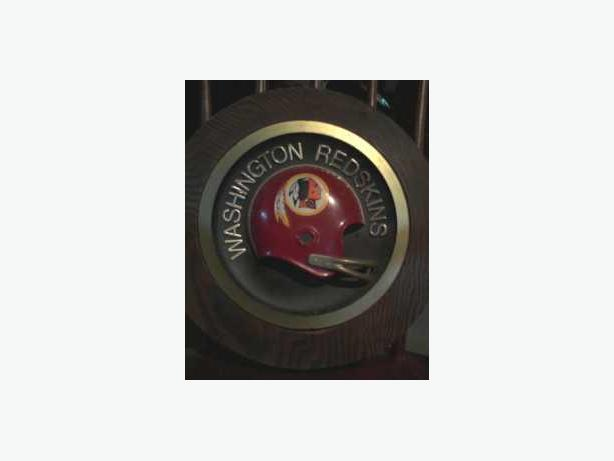 Washington Redskins Helmet Plaque