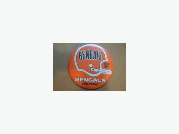 1960's/70's Cincinnati Bengals button
