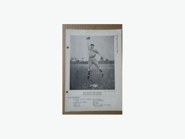 1940's Les Fleming Baseball photo