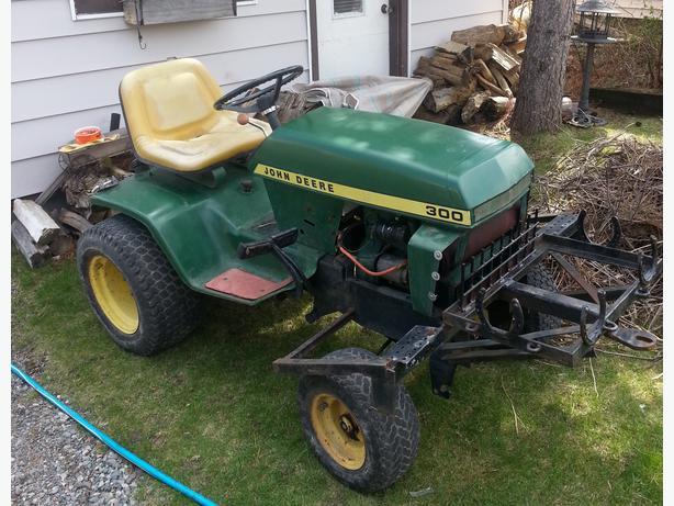 John Deere 300 Backhoe Parts : Wanted john deere attachments plow mower etc
