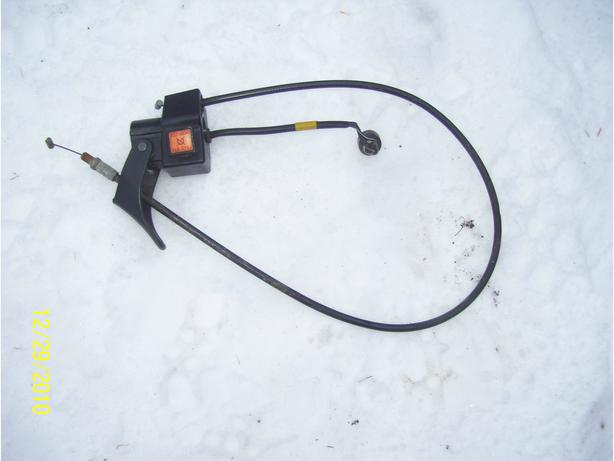 Skidoo throttle assembly kill switch throttle cable