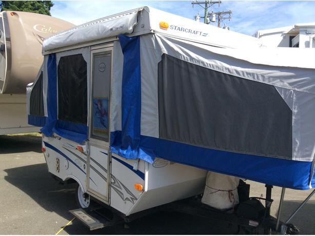 2007 Starcraft 1701 Tent Trailer Courtenay Courtenay Comox