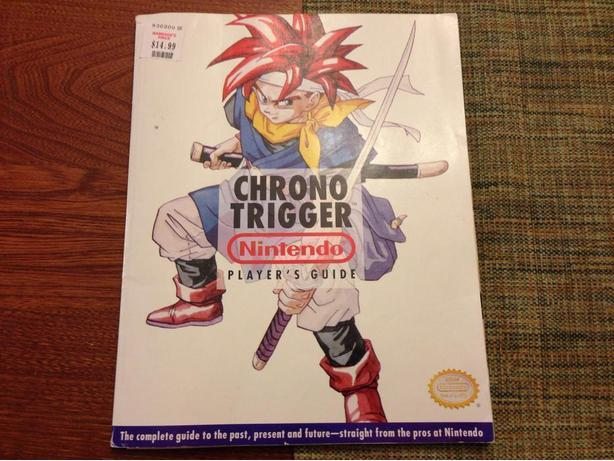 Chrono trigger nintendo official player's guide strategy Super Nintendo Snes