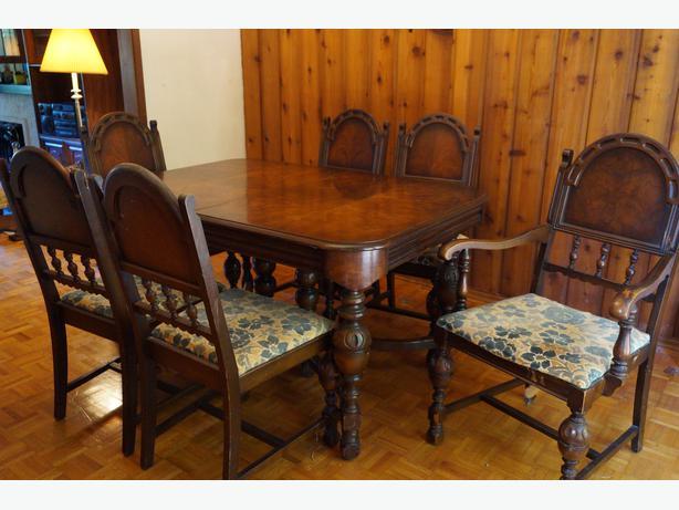 1920s antique dining room set central saanich victoria