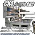 Compact full size 4-axis stone CNC from Scandinvent