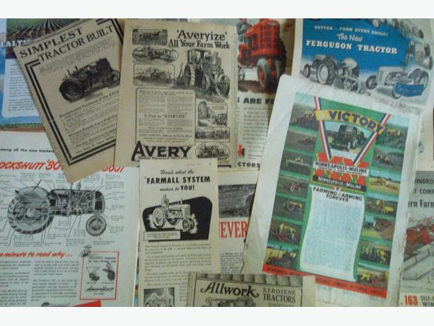 Tractors & Farm Equipment Ads