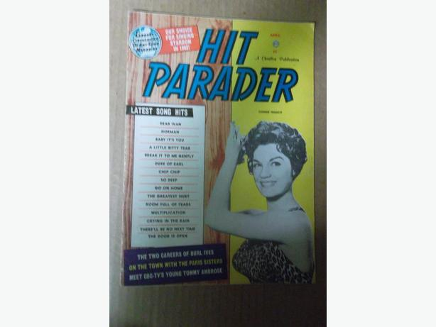 "1962 ""Hit Parader"" magazine"
