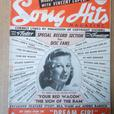 "1940's ""Song Hits"" magazine"