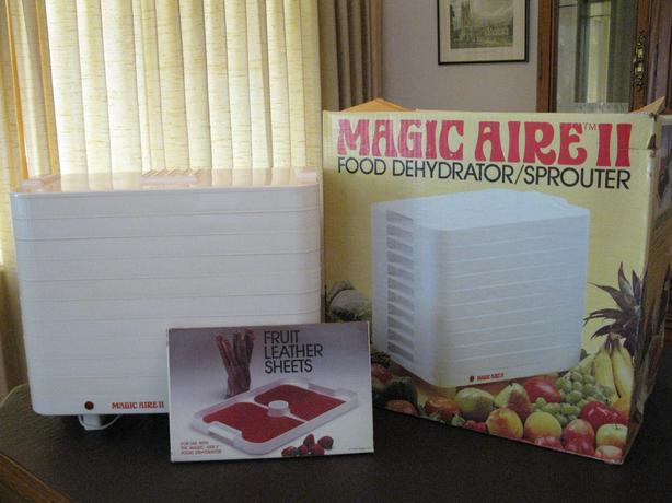 magic aire 2 dehydrator manual