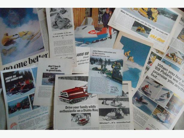 Snowmobile Ads