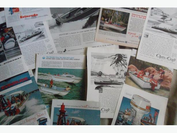 Boats and Outboard Motors Ads -