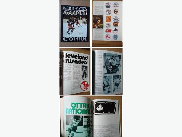 1972/73 World Hockey Association Action Annual
