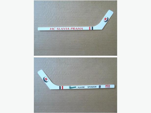 HC Slavia Praha (Czech Republic) plastic mini hockey stick