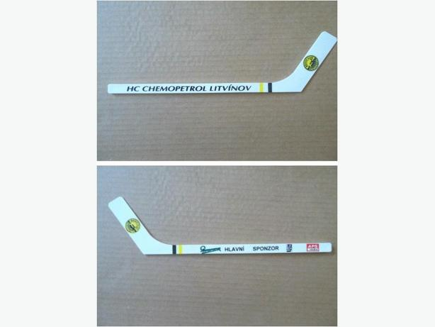 HC Chemopetrol Litvinov (Czech Republic) plastic mini hockey stick
