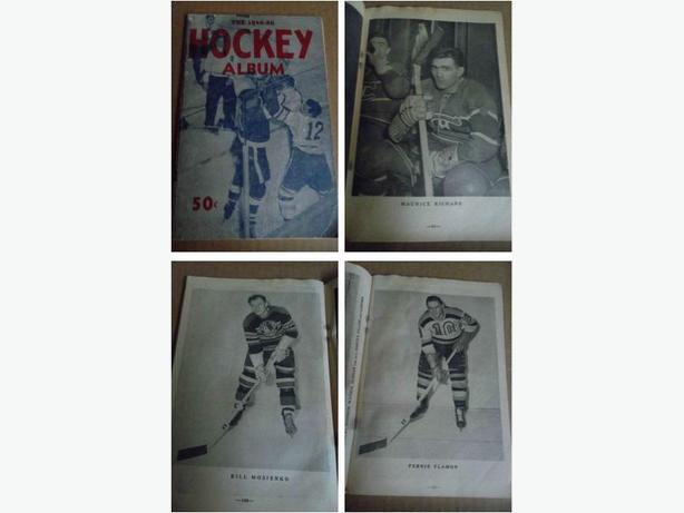 1949/50 Turofsky Hockey Album