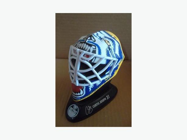 1996 McDonald's Goalie Mask - Curtis Joseph