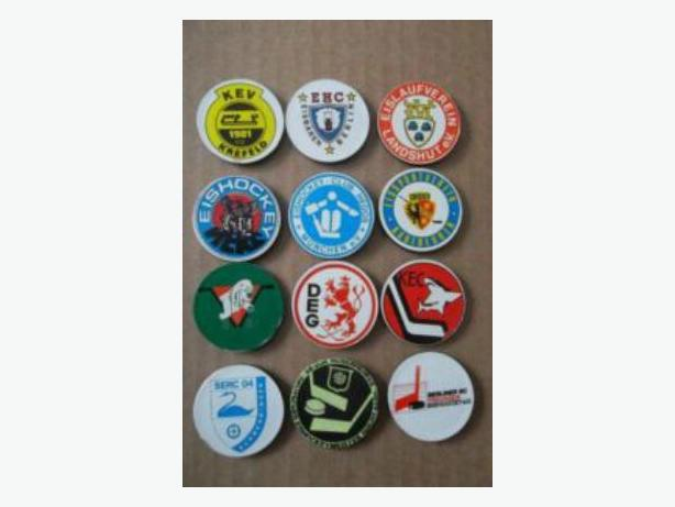 Set of German Ice Hockey League magnets