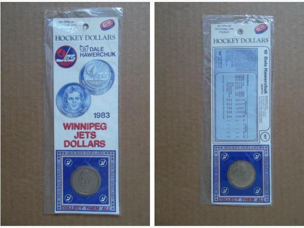 1983 Dale Hawerchuk (Winnipeg Jets) Hockey Dollar